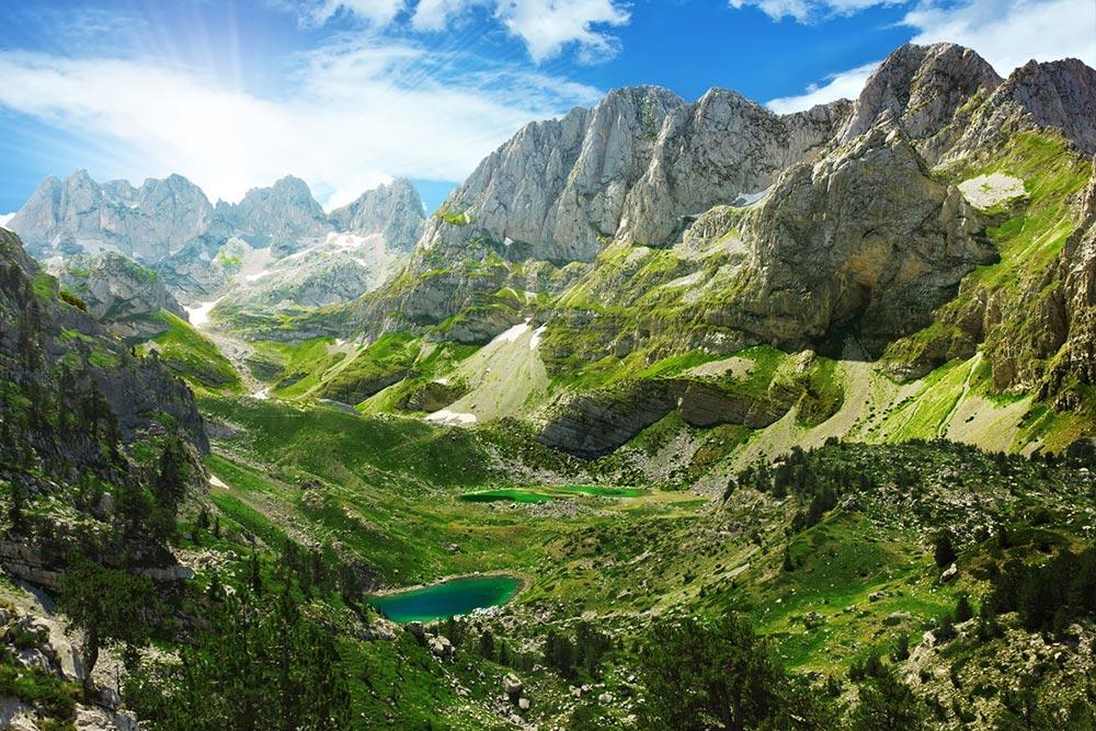 albanskie alpy